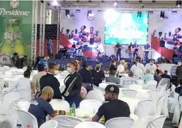 VIDEO | Realizan fiesta a delegación dominicana que participó en Juegos Olímpicos de Tokio
