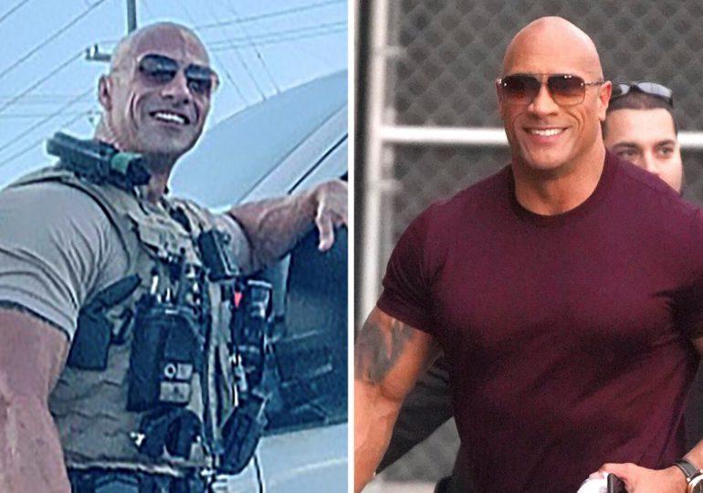 Un policía de Alabama se hace viral por su increíble parecido a Dwayne Johnson
