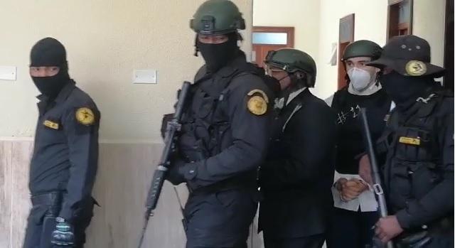 VIDEO | Recesan cinco minutos audiencia de revisión obligatoria de medida de coerción a imputados caso Coral