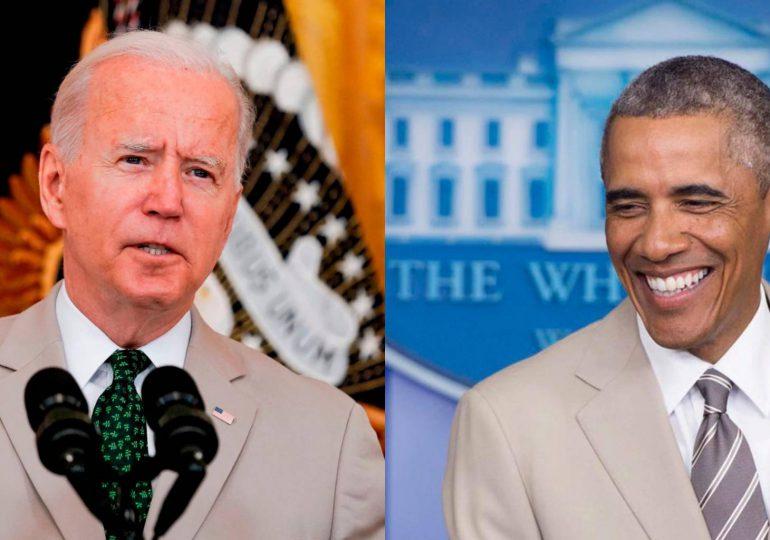 El traje beige de Biden evoca la polémica más absurda del mandato de Obama