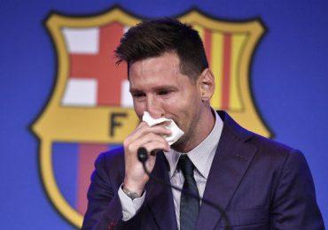 Lluvia de homenajes a Messi tras su despedida del FC Barcelona