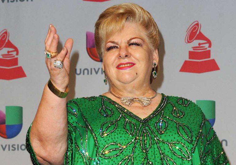Paquita la del Barrio recibe reconocimiento en los Premios Billboard de la Música Latina