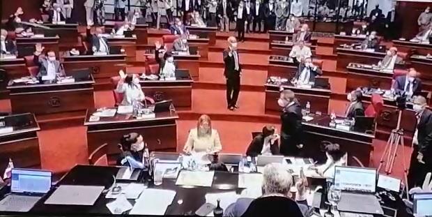 VIDEO   Senadores aprueban 45 días más de estado de emergencia