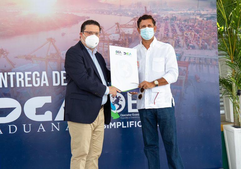 Grupo Estrella recibe certificación OEA de DGA