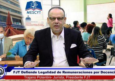 FJT defiende compatibilidad constitucional de pensiones y remuneraciones extras por docencia universitaria