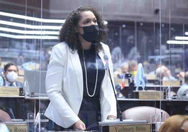 Juliana O' Neal es la Novata del Año de los representantes de SDE en  Cámara de Diputados