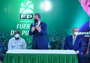 Fuerza del Pueblo anuncia nombres de quienes acudirán a diálogo convocado por Luis Abinader