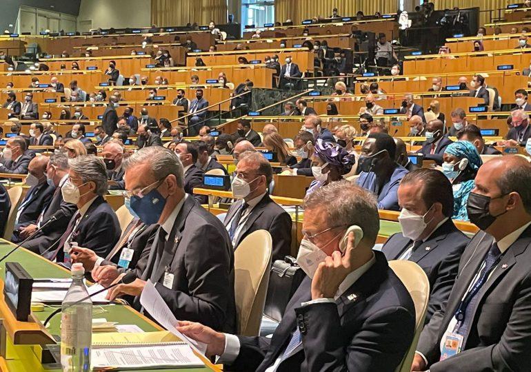 Presidente Abinader asiste al inicio de debate general en la ONU