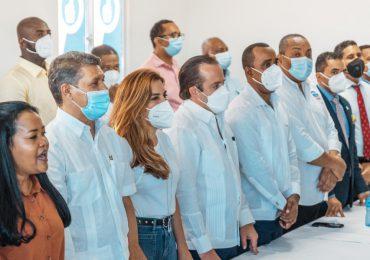 PRM juramenta dos regidores; realiza asamblea en Santo Domingo Oeste