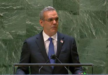 """Abinader """"no hay ni habrá jamás una solución Dominicana a la crisis de Haití"""""""