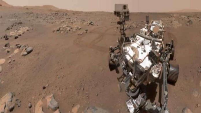 El rover Perseverance de la NASA se tomó selfies en Marte