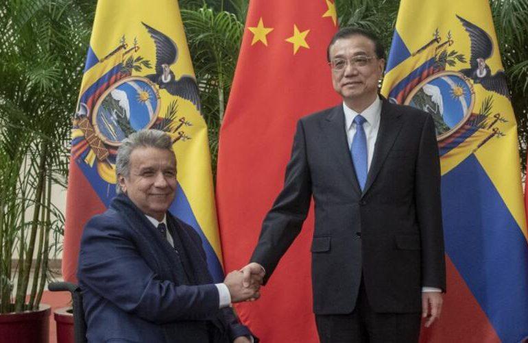 Ecuador plantea a China un acuerdo de libre comercio y reestructurar su deuda