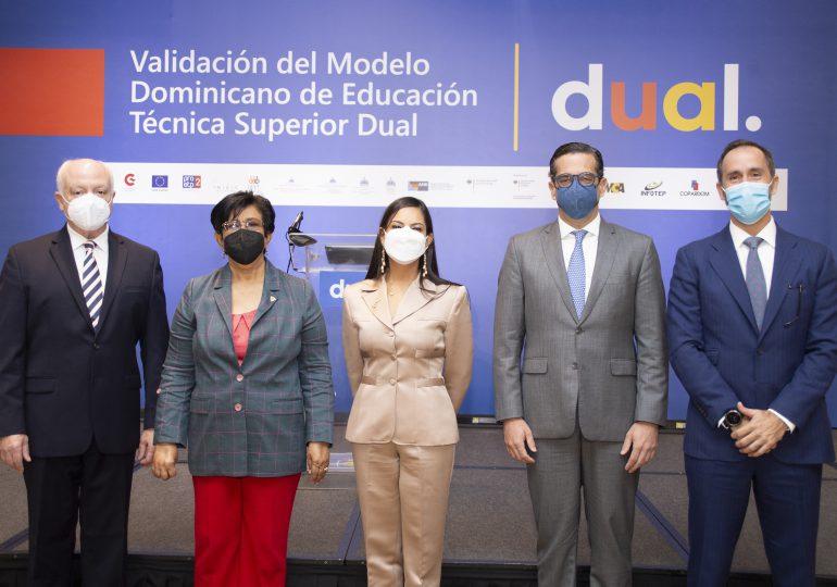 VIDEO | Autoridades dan primeros pasos para  implementación de modelo dual de Educación Técnico Superior en RD