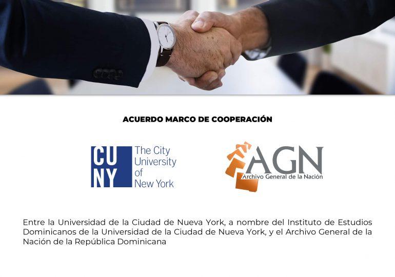 Archivo General de la Nación firma convenio con Universidad de Nueva York