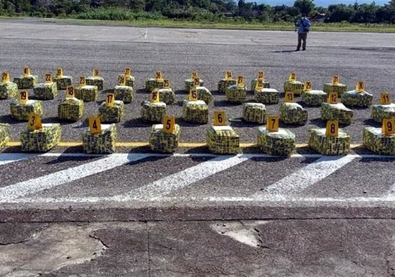 Hallan una tonelada de cocaína en plantaciones de Guatemala