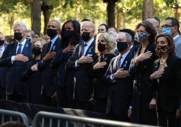 EEUU honra a los 3.000 muertos de los atentados del 11 de septiembre de 2001