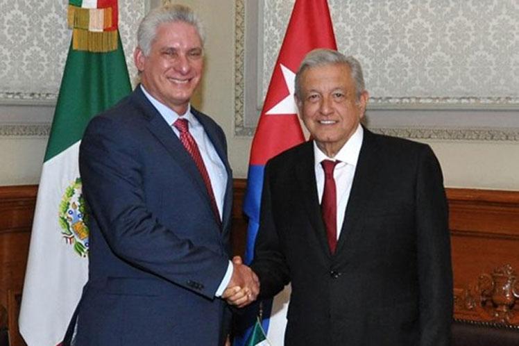 López Obrador anunció visita oficial de presidente de Cuba Díaz-Canel