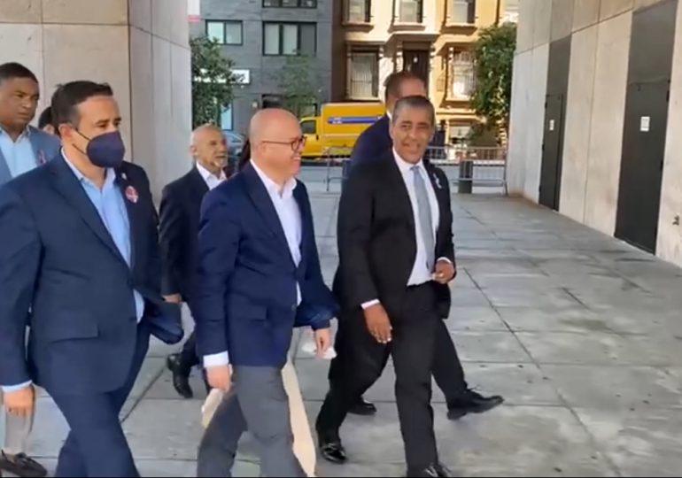 VIDEO | Francisco Domínguez Brito se reúne con Senador de Nueva York, Adriano Espaillat