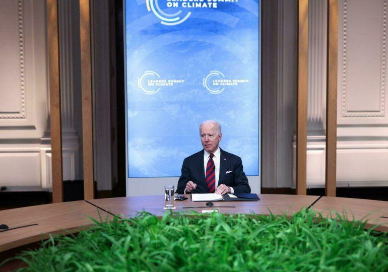 Biden anuncia nuevo esfuerzo financiero de EEUU para pandemia y cambio climático