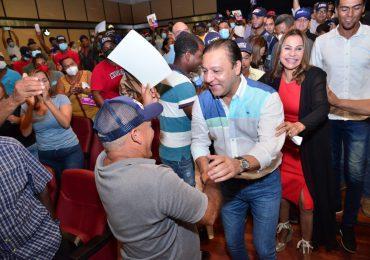Abel Martínez llama a dominicanos apostar al proceso de renovación y transformación del PLD
