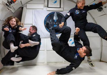 Cinco claves de la misión de turismo espacial Inspiration4