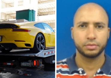 Video | Identifican a conductor de Porsche amarillo que casi atropella a un agente de DIGESETT