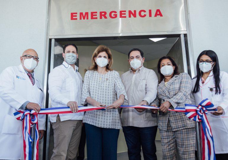 Entregan Emergencia del Hospital General Dr. Vinicio Calventi en Los Alcarrizos