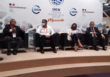 Medio Ambiente culmina  participación en Congreso Mundial de la Naturaleza celebrado en Francia