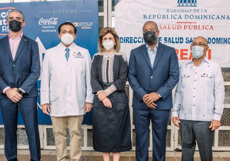 Vicepresidencia y Sistema Coca-Cola impulsan centro de vacunación contra el COVID-19 en SDE