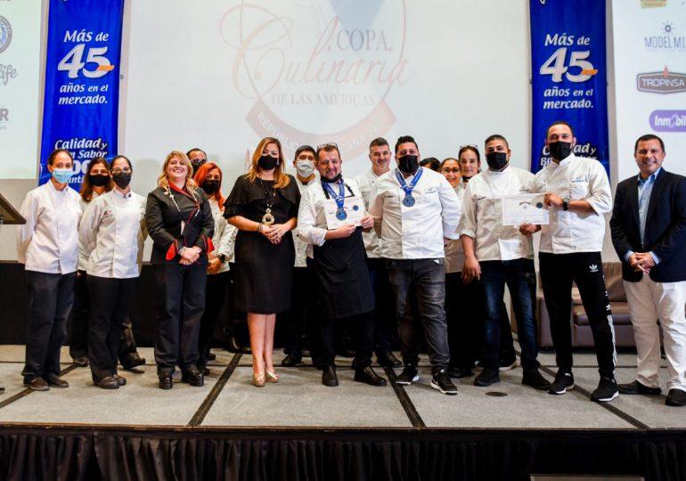 Equipo dominicano obtiene medalla de oro en la Copa Culinaria de las Américas