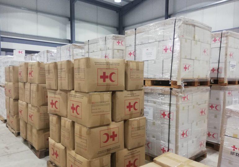 Cruz Roja Dominicana envía a Haití segundo cargamento de ayuda humanitaria para afectados por terremoto