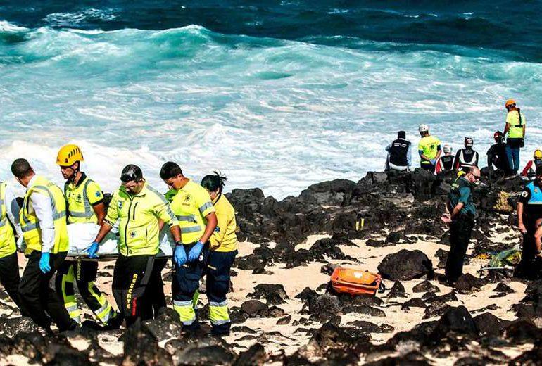 Hallados ocho cadáveres de inmigrantes en playas del sur de España