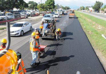 Obras Públicas informa avería en tramo de autopista Duarte