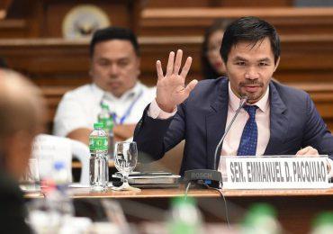 Manny Pacquiao, en el nombre del boxeo, de la política y del Espíritu Santo