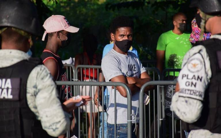 México inicia repatriación voluntaria de migrantes haitianos