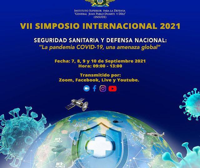 """Inauguran VII Simposio Seguridad Sanitaria y Defensa Nacional: """"La Pandemia COVID-19, Una Amenaza Global"""""""