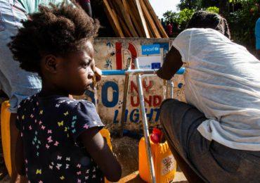 Niños en Haití en riesgo contraer enfermedades transmisibles