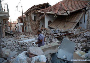 Un fuerte sismo causa un muerto y 11 heridos en la isla griega de Creta