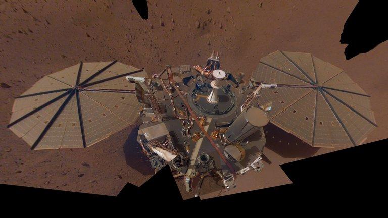 Un robot de la NASA detectó un gran terremoto en Marte