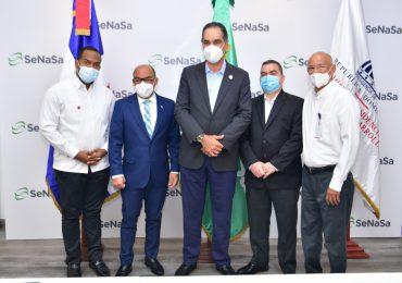 SeNaSa y Comisión Barrial  acuerdan garantizar coberturas de servicios de salud a juntas de vecinos