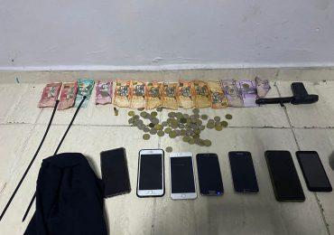 PN desarticula banda de asaltantes de bancas de lotería en SFM