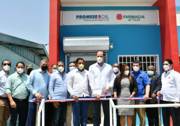 Promese/Cal se expande e inaugura dos Farmacias del Pueblo en Valverde, Mao