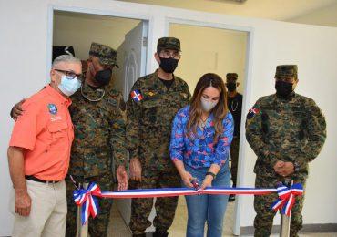 MIDE Inaugura dispensario médico en Caballería Aérea del Ejército