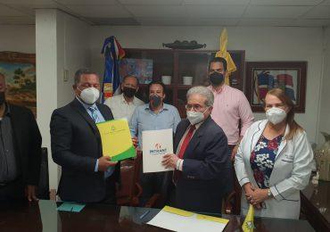 CMD e INTRANT firman acuerdo para trabajar en la reducción de accidentes de tránsito