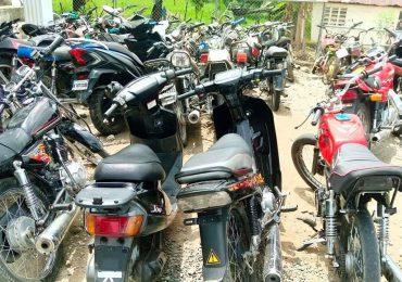 Policía Nacional informa recuperación de 1,032 motocicletas robadas