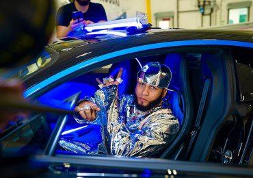 El Alfa muestra su nuevo Bugatti