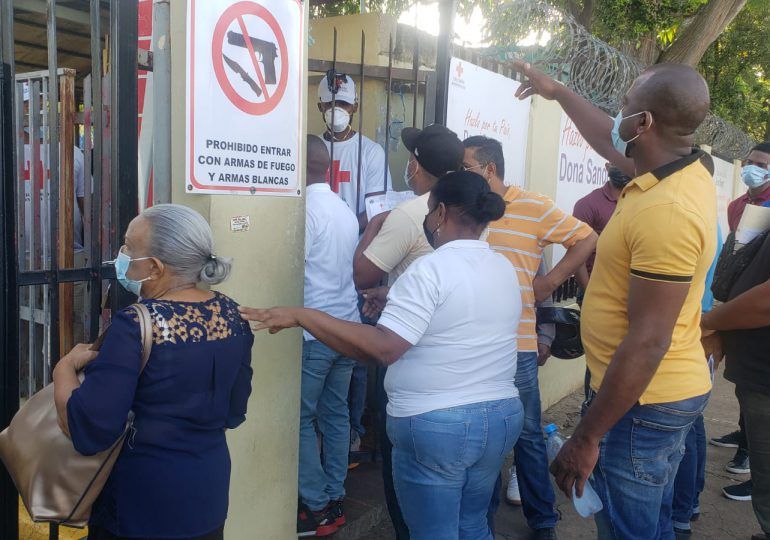 VIDEO   Sangre derramada entre dos bandos por administración de la Cruz Roja Dominicana
