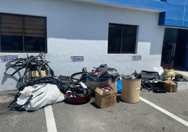 VIDEO   Desarticulan banda dedicada al robo de retrovisores en el Gran Santo Domingo y otras provincias del país