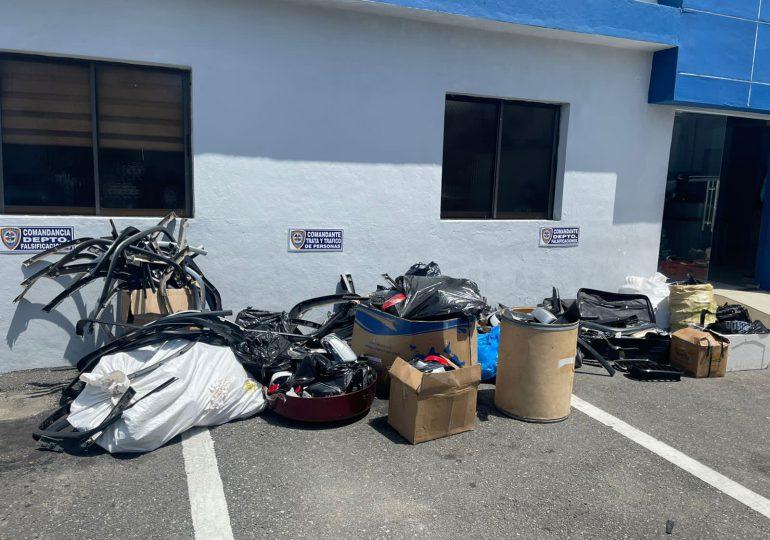 VIDEO | Desarticulan banda dedicada al robo de retrovisores en el Gran Santo Domingo y otras provincias del país