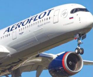 Aerolínea nacional rusa Aeroflot retoma vuelos hacia RD
